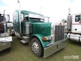 2005 Peterbilt 379 Truck Tractor, s/n 1XP5DB9X65N864887: 13-sp., Sleeper