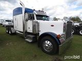 2005 Peterbilt 379 Truck Tractor, s/n 1XP5DB9X65D820040: Fuller 13-sp., Sle