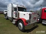 2003 Peterbilt 379 Truck Tractor, s/n 1XP5DB9X43N587900: 10-sp., Sleeper
