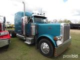 2001 Peterbilt 379 Truck Tractor, s/n 1XP5DB9X51N561951: Cat 475hp Eng., 18