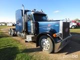 2000 Peterbilt 379 Truck Tractor, s/n 1XP5DB9X6YD491408: T/A, Cat 3406 Eng.