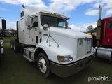 1998 International 9200 Truck Tractor, s/n 2HSFMAXR6WC049415: Fuller 10-sp.