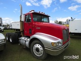 1998 International 9200 Truck Tractor, s/n 2HSFMAMR6WC043599: Day Cab, T/A,