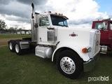 1988 Peterbilt 378 Truck Tractor, s/n 1XP1D29X9JN262080: T/A, 9-sp., Day Ca