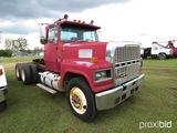 1986 Ford LTL9000 Truck Tractor, s/n 1FDYA90X9GVA24002: Cat Eng., 9-over Tr