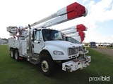 2008 Freightliner Business Class M2 Bucket Truck, s/n 1FVHCYBS28HAB2898: T/