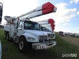2007 Freightliner Business Class M2 Bucket Truck, s/n 1FVHCYDC37HX08501: T/