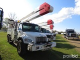 2007 Freightliner Business Class M2 Bucket Truck, s/n 1FVHCYDC97HX08504: T/