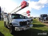 2007 Freightliner Business Class M2 Bucket Truck, s/n 1FVHCYDCX7HX27403: T/