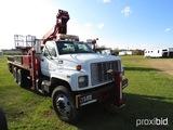 2000 Chevy C8500 Bucket Truck, s/n 1GBT7H4C2YJ521727 (Title Delay): T/A, Au