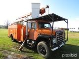 1985 International S1900 Bucket Truck, s/n 1HTLDTVR6FHA41162 (Bonded Title)
