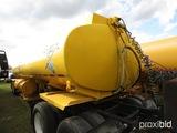 Isometrics 8000-gallon Fuel Tank, s/n 572FS004 (No Title - Bill of Sale Onl