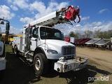 2010 Freightliner Business Class M2 Digger Derrick Truck, s/n 1FVACYBS3ADAP