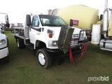 2005 GMC C4500 4WD Chemical Spray Truck, s/n 1GDE4C3285F529298: Duramax Die