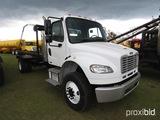 2012 Freightliner M2 Rolloff Truck, s/n 1FVACXBS5CDBN0869: S/A, Cummings Di