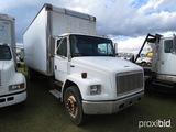 2000 Freightliner FL70 Box Truck, s/n 1FV6HJAC9YHF00633: 24' Box, 6-sp., S/