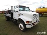 2001 International 4900 Flatbed Truck, s/n 1HTSDAAN91H349547: 5-SP., Tie Do
