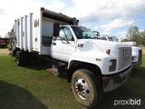 1999 GMC C7500 Garbage Truck, s/n 1GDM7H1C1XJ514587: Rear Loaded