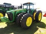 2007 John Deere 8530 MFWD Tractor, s/n RW8530D012506: C/A, IVT Trans., ILS