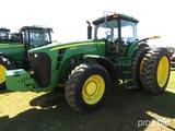 2009 John Deere 8330 MFWD Tractor, s/n RW8330P041841: C/A, Rear Duals, Mete