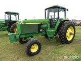 John Deere 4760 Tractor, s/n RW4760H002441: C/A, Wts.