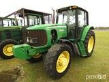 John Deere 7130 MFWD Tractor, s/n L07130H574901: Encl. Cab, Power Quad, Lef