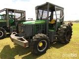 John Deere 6330 MFWD Tractor, s/n L06330A653777: Forestry Pkg., Skid Plate,