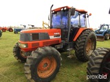 Kubota M120 MFWD Tractor, s/n 50189: C/A, 3PH, Hyd. Remotes, Meter Shows 48
