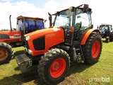 Kubota M110GX MFWD Tractor, s/n 50574: C/A, Front Weights, Meter Shows 2811