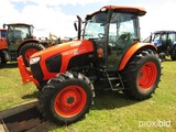 2017 Kubota M5-111D MFWD Tractor, s/n 54093: C/A, Meter Shows 400 hrs