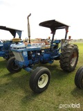 Ford 6610 Tractor: 2wd