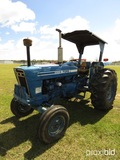 Ford 5900 Tractor, s/n 7X01812: 2wd, 2-post Canopy, Meter Shows 3374 hrs