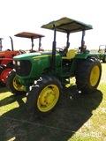 2012 John Deere 5055E MFWD Tractor, s/n 1PY5055EVCB012435: Rollbar Canopy,