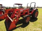 Kubota M7040 MFWD Tractor, s/n 54160: Loader, Meter Shows 3407 hrs
