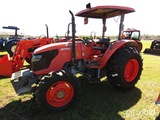 Kubota M7040DT MFWD Tractor, s/n 42489: Meter Shows 1583 hrs