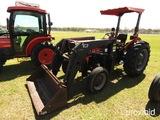 Tafe 5000DE Tractor, s/n 144677: 2wd, Loader, Meter Shows 1240 hrs