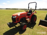 Kubota L3200 Tractor, s/n 20451: 2wd, Meter Shows 235 hrs