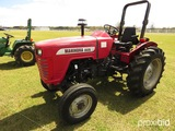 2007 Mahindra 3525DI Tractor, s/n EMBN4285: 2wd, Rollbar, Meter Shows 675 h
