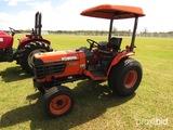Kubota B7800 HSD MFWD Tractor, s/n 53594: Meter Shows 3830 hrs