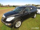 2011 Buick Enclave SUV, s/n 5GAKVBED4BJ133098: 4-door, Odometer Shows 184K