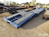 1994 Load King Folding Neck Lowboy, s/n 1B4L52340R1118501: 50-ton