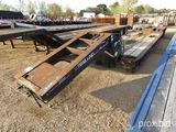 1988 Trail King HG Detach Lowboy, s/n 1TKH04838JM071829: 50-ton, 3-axle