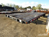 2008 Fontaine 48' Flatbed Trailer, s/n 13N14820281548071: 10'2
