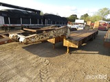 1977 Nabors Lowboy, s/n 25-282-LD3 (No Title - Bill of Sale Only): 3-axle,