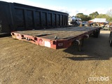 1974 Fontaine 52' Flatbed Trailer, s/n FH22645