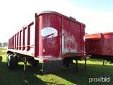 2006 Palmer TA24H Dump Trailer, s/n 1P724HS256A003401: Steel