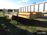 1979 Fontaine Lowboy, s/n A791477: T/A, 35-ton, Dovetail, Ramps
