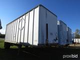 1984 Vanco 28' Van Trailer, s/n 1VVV28101E1003702: S/A, Roll Up Door