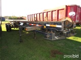 2000 Clement Roll Off Trailer, s/n 5C2EB36B3YM000073 (No Title - Bill of Sa