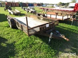 16' Trailer (No Title - Bill of Sale Only): Bumper-pull, Ramps, T/A
